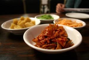 kimchi + sidedishes