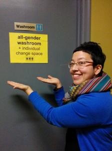 qsy washroom sign photo