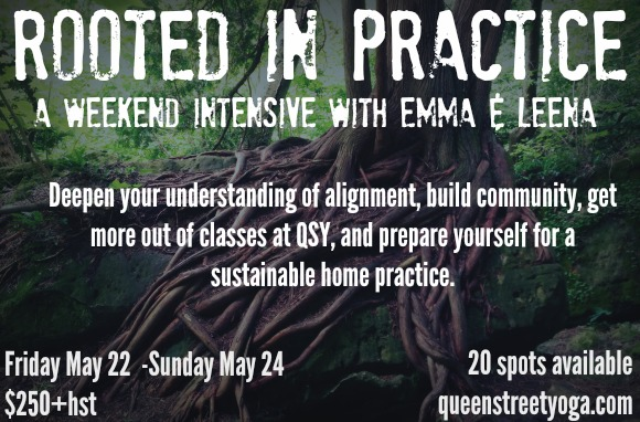 rooted in practice may intensive