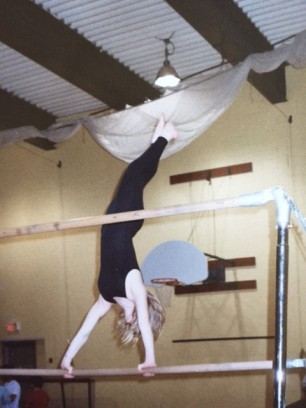 aimee gymnastics handstand