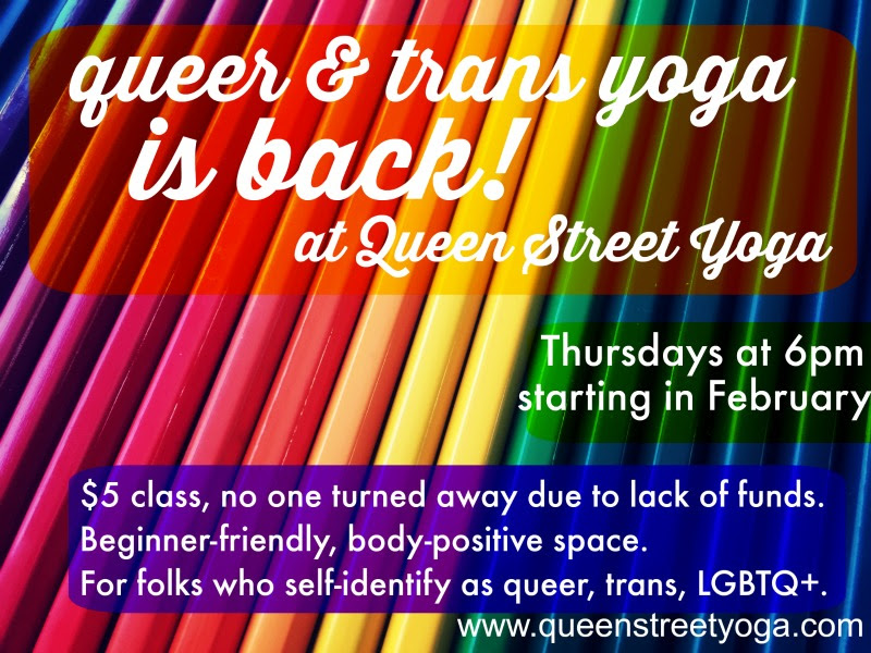 Re-Post: Queer & Trans Yoga: A Reflection on why it is needed and the purpose it provides
